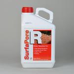 レンガ用水性撥水材の施工方法 効果    サーファポアR