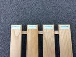 木部用ノンスリップ塗料の滑り止め効果の比較 フレッシュアクアFノンスリップ