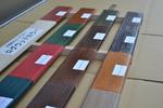 屋外木部水性艶ありステイン塗料 ログウッドカラー