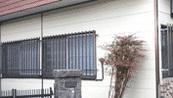 金属系サイディングボード、カラートタン壁面